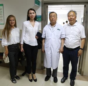 Ректор ЧелГУ Диана Циринг договорилась о сотрудничестве вуза с Хэйлунцзянским университетом китайской медицины